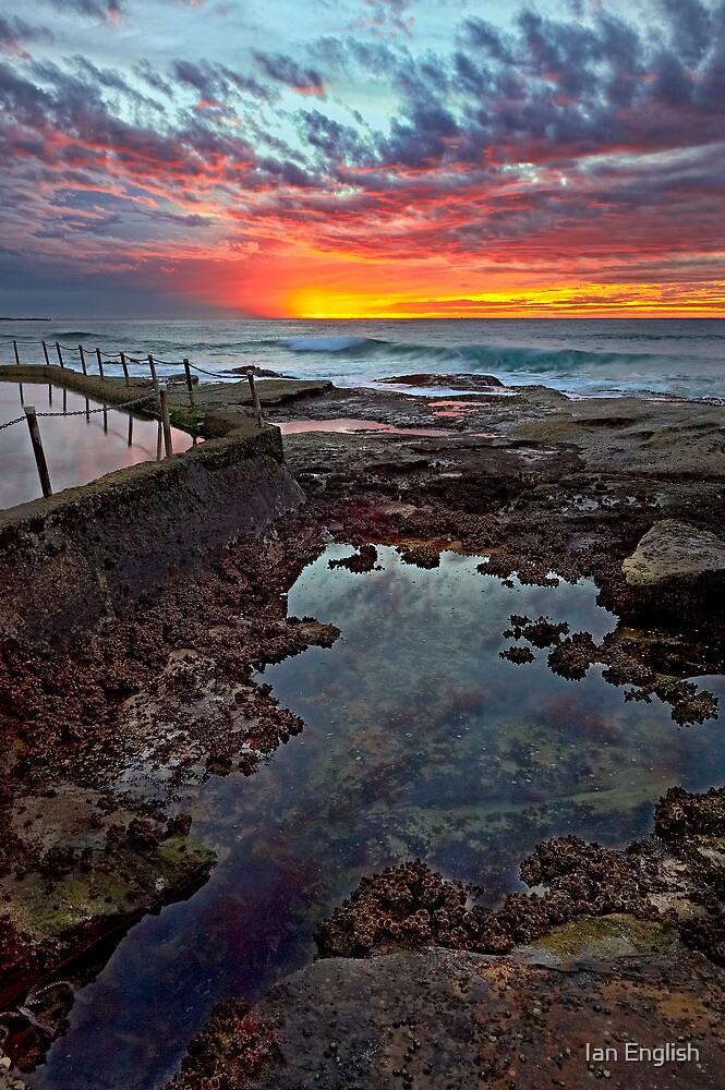 Curl Curl Sunrise by Ian English