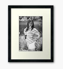 Neighbor Girl 13 Framed Print
