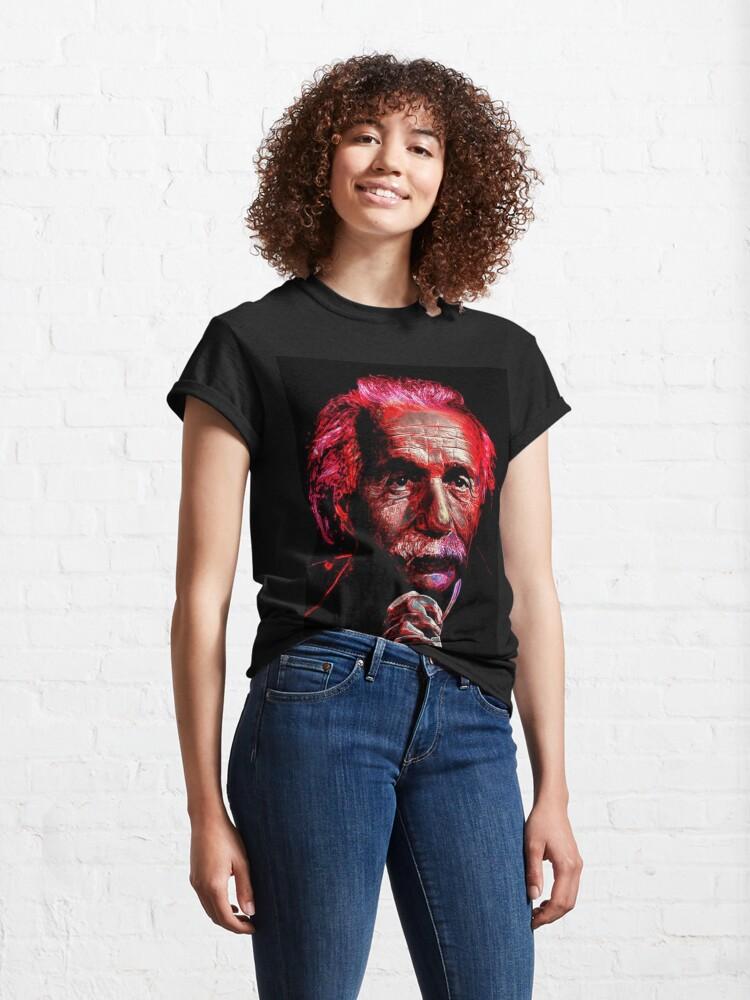 Alternate view of ALBERT EINSTEIN Classic T-Shirt