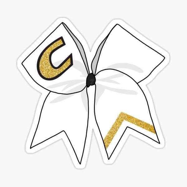 Centre College Cheerleading Bow Sticker