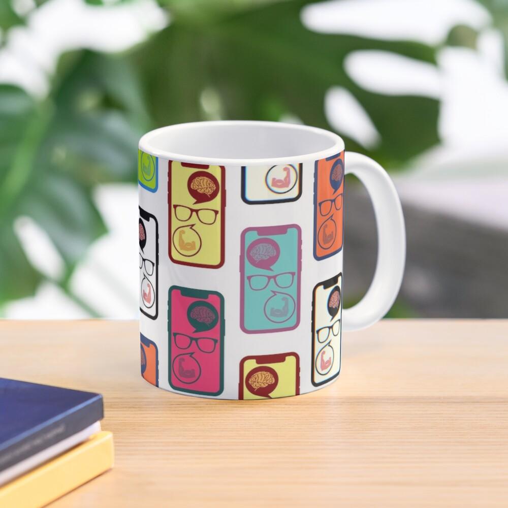 Fitness Geek Pop Art Mug