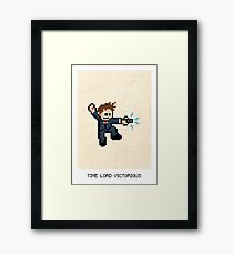 Time Lord Victorious Framed Print