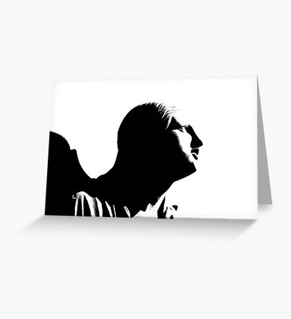 Profile of an Angel Greeting Card