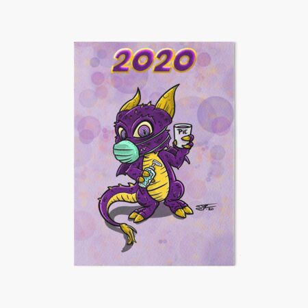 Unofficial DragonCon 2020  Art Board Print