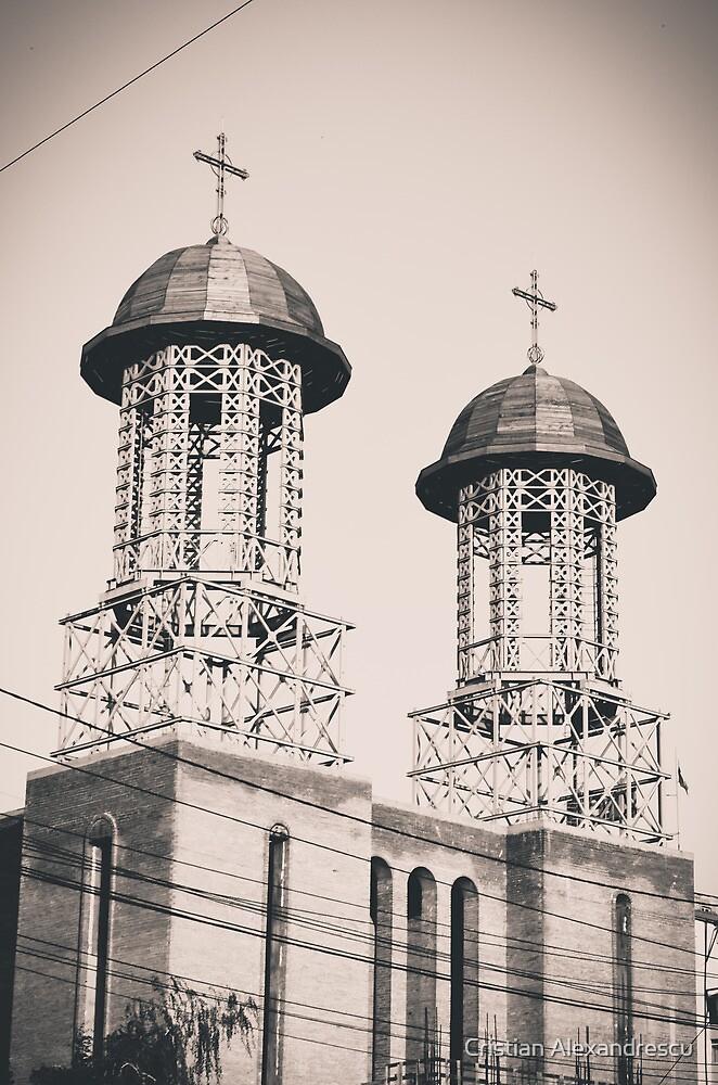 Twin Towers by Cristian Alexandrescu