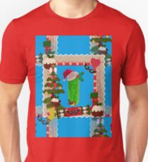 ugly christmas pickle Unisex T-Shirt