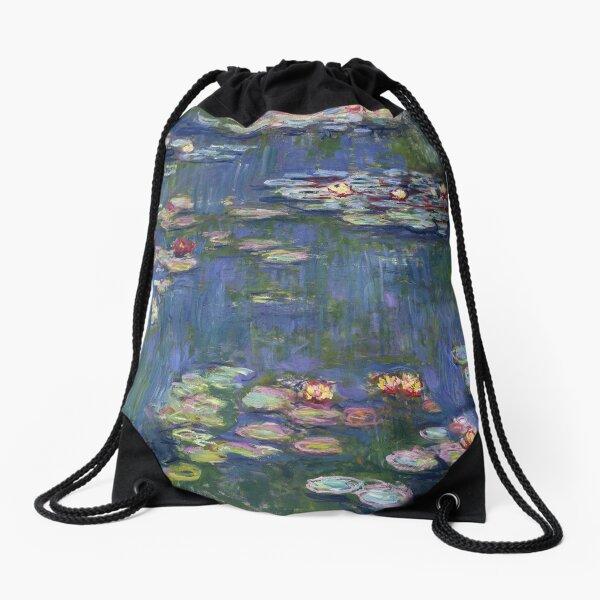 Claude Monet - Water Lilies Drawstring Bag