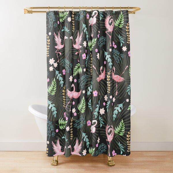 Flamingo Fandango Shower Curtain