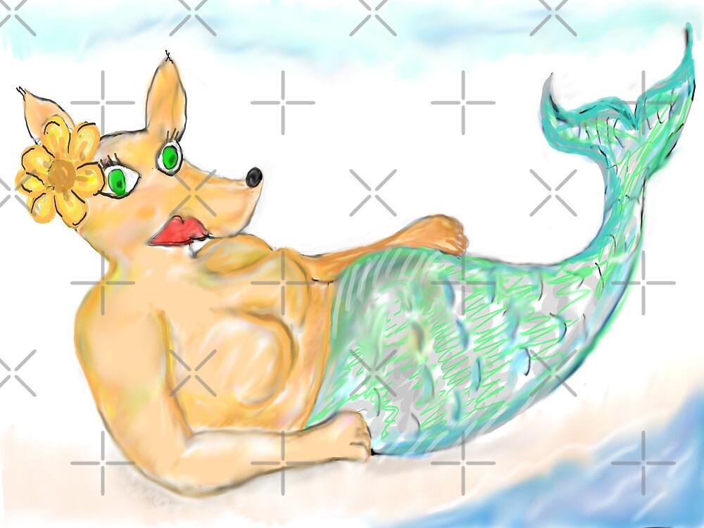 Bitch Mermaid by Almdrs