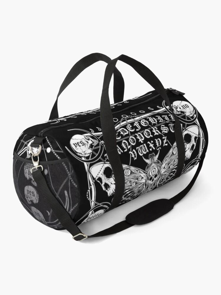 Alternate view of Death Moth Spirit Board Duffle Bag
