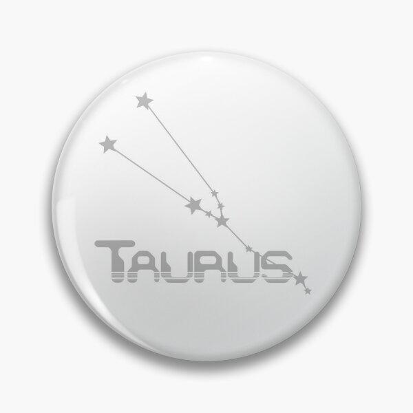 Retro Constellations: Taurus -- Gray Pin