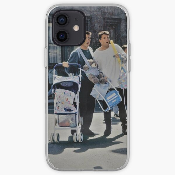 Chandler And Joey iPhone Soft Case