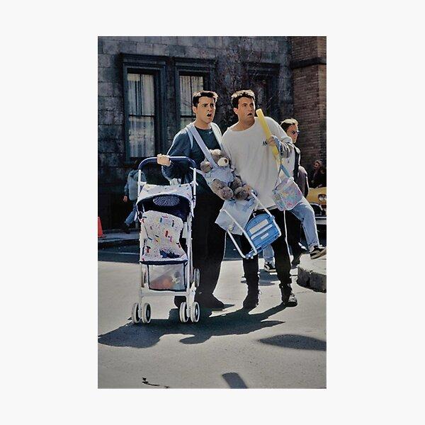 Chandler y Joey Lámina fotográfica