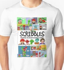 Scribbles Mashup! Unisex T-Shirt