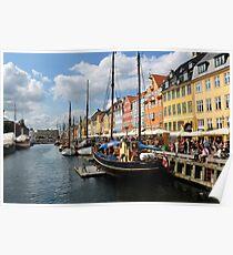 Nyhavn Harbour Poster