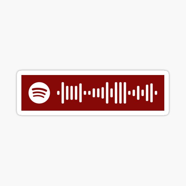 Come What May Spotify Code Sticker