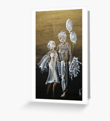 ... after the first a dance ...  Greeting Card