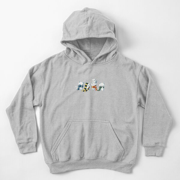 4 cats with scarf Kids Pullover Hoodie