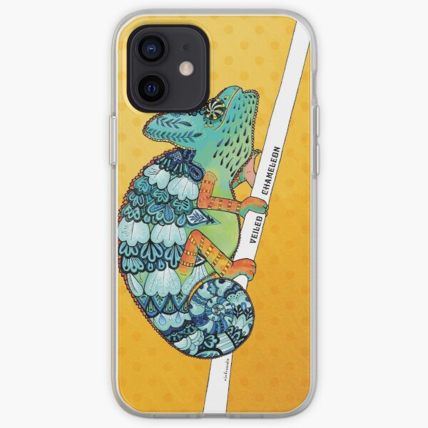 Veiled Chameleon II iPhone Soft Case