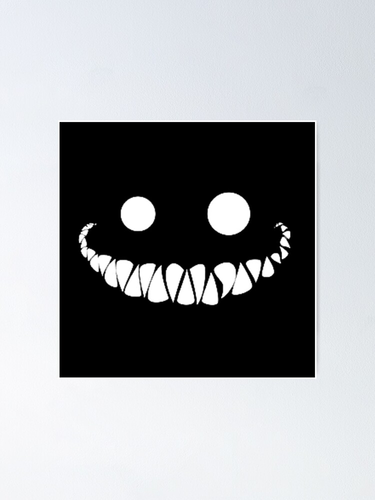 Creepy Smile Poster By Yousra2020 Redbubble Search more hd transparent creepy smile image on kindpng. redbubble