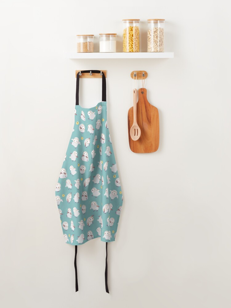 Alternate view of Baby barn owls Apron
