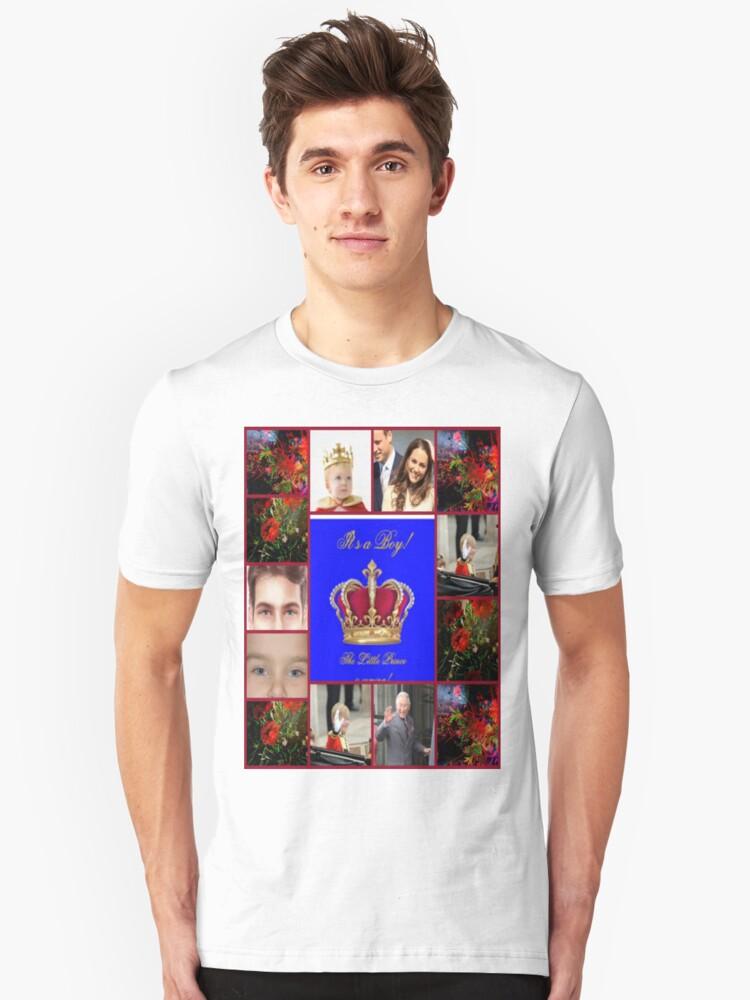 It s a boy Unisex T-Shirt Front
