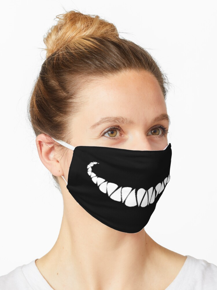 Creepy Smile Mask By Yousra2020 Redbubble See more ideas about creepy smile, creepy, fo porter. redbubble