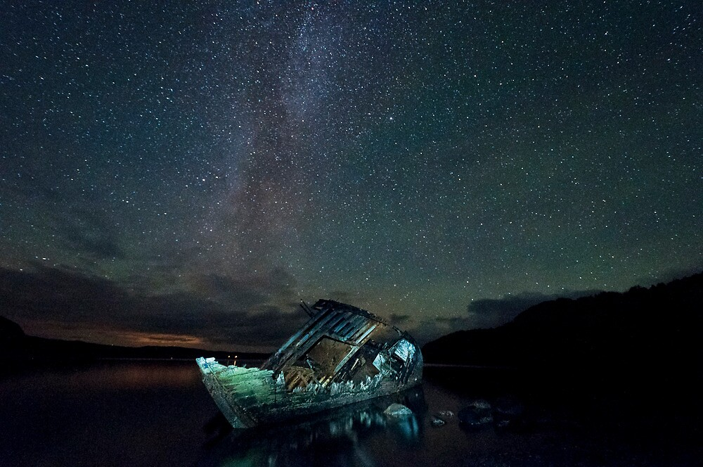 milky way over the dayspring by paul mcgreevy