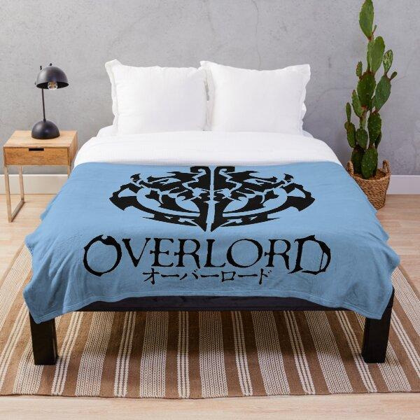 OVERLORD Anime Blue Throw Blanket
