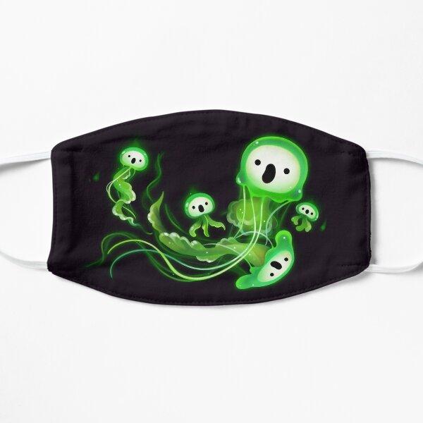 Ghost Jellyfish Flat Mask