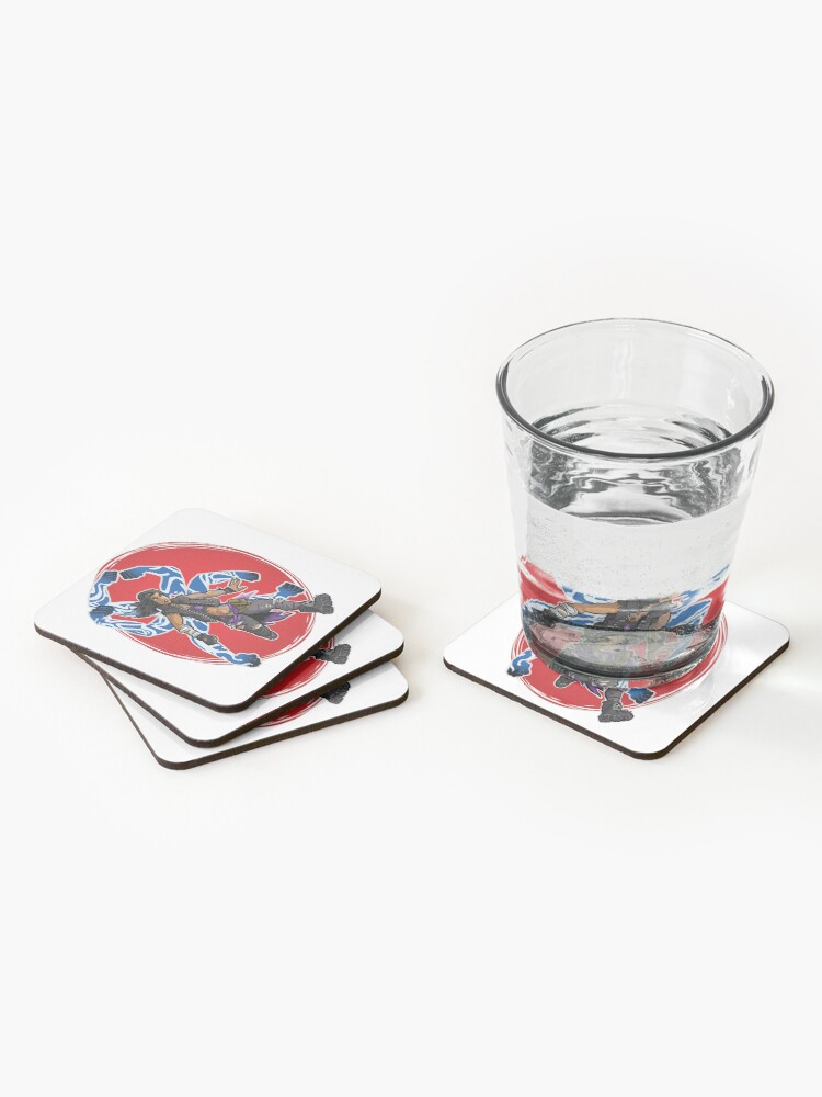 Alternate view of Amara The Siren Borderlands 3 The Tiger of Partali Coasters (Set of 4)