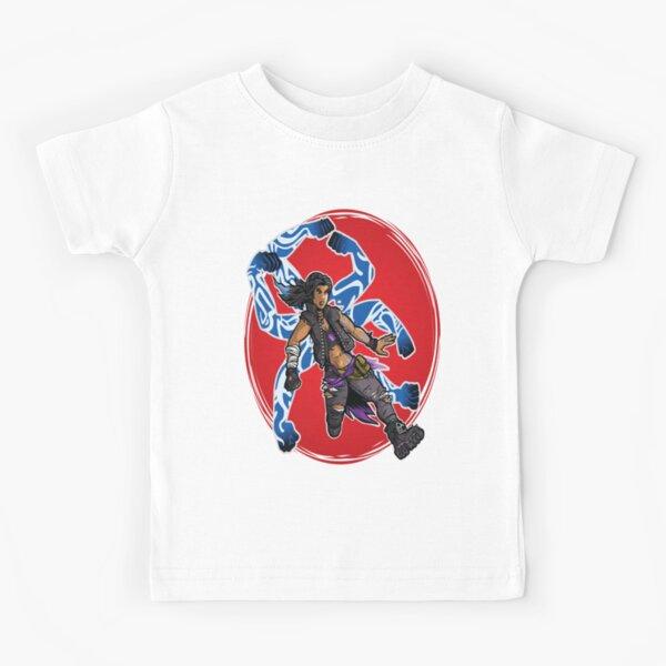 Amara The Siren Borderlands 3 The Tiger of Partali Kids T-Shirt