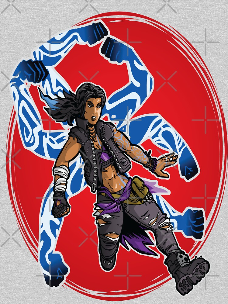 Amara The Siren Borderlands 3 The Tiger of Partali by WordsGamersUse