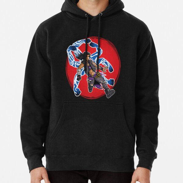 Amara The Siren Borderlands 3 The Tiger of Partali Pullover Hoodie