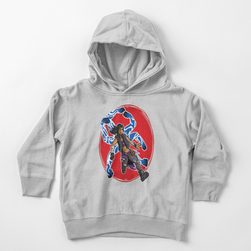 Amara The Siren Borderlands 3 The Tiger of Partali Toddler Pullover Hoodie