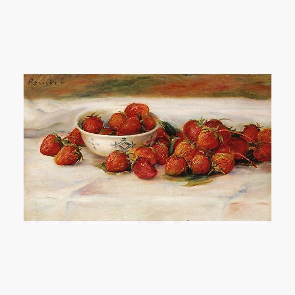 Auguste Renoir - Strawberries Photographic Print