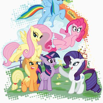 My Little Pony Group shot by paulabstruse