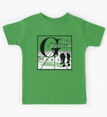 Game Theory - 2 Steps to the Middle Ages Tour (Light) Kids Tee
