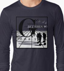 Game Theory - 2 Steps to the Middle Ages Tour (Light) T-Shirt