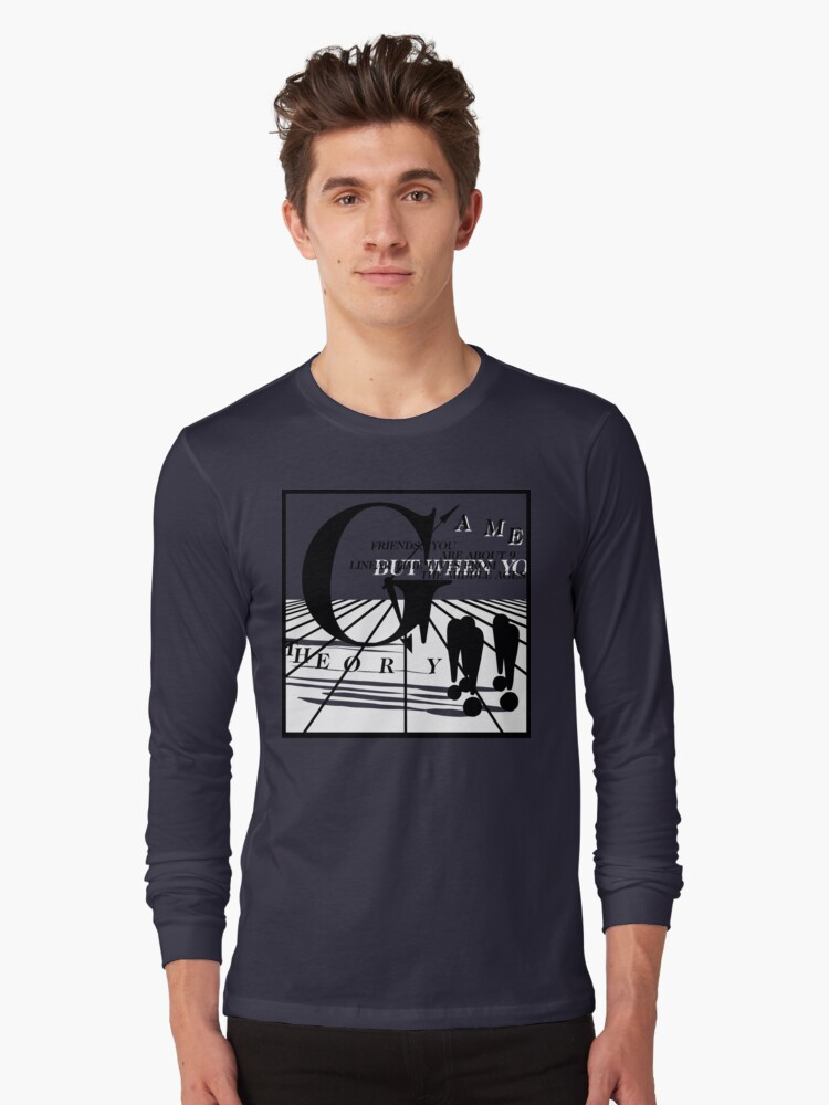 Game Theory - 2 Steps to the Middle Ages Tour (Light) Long Sleeve T-Shirt Front