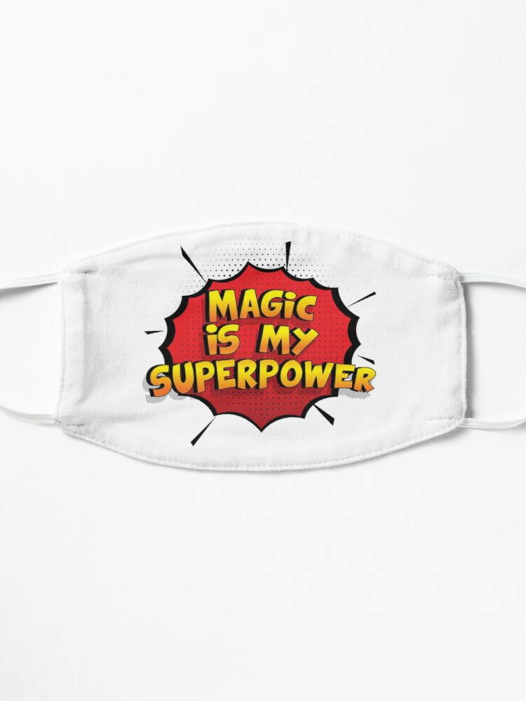 Alternative Ansicht von Magic ist mein Superpower Lustiges Magic Designgeschenk Maske