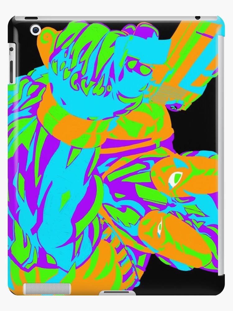 Neon Deadpool by spangledstripes