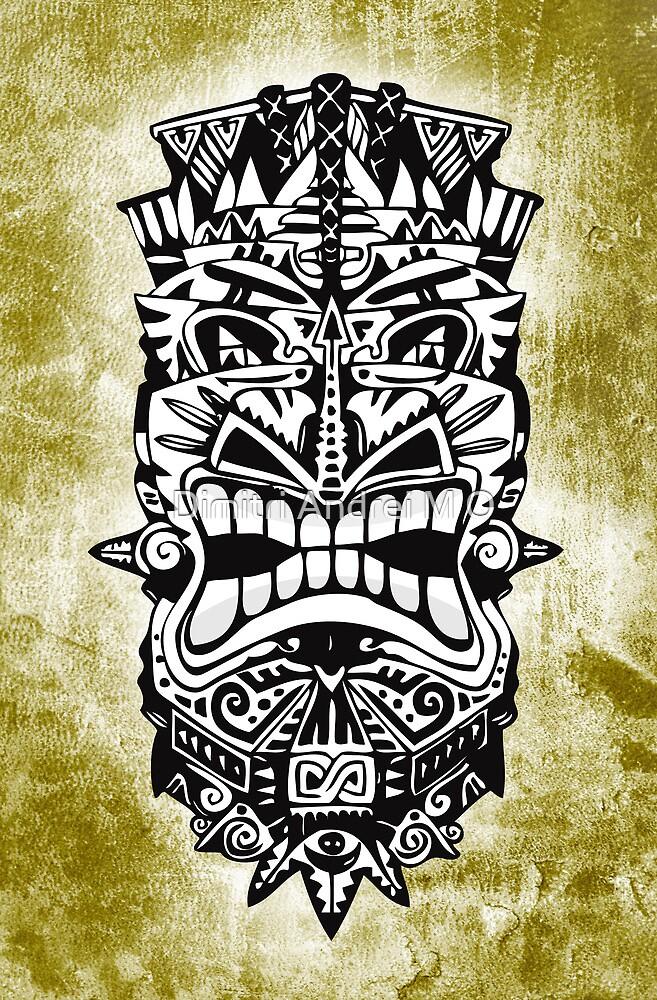 MASCARA - tribal 1 by Dimitri Andrei M O