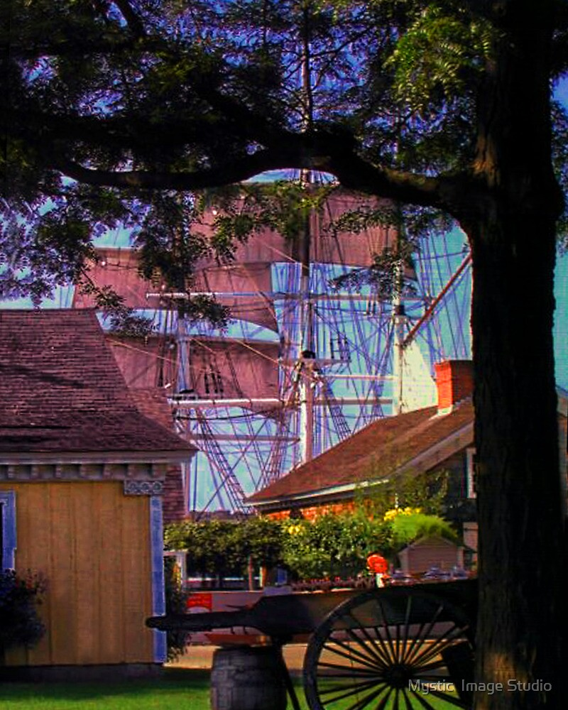 Sails through the Trees by OntheroadImage