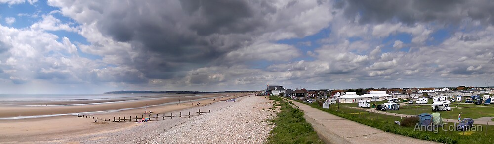 Near to Camber Sands by Andy Coleman