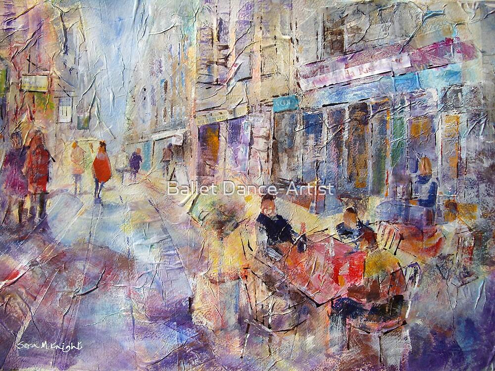 Al Fresco Cafe - Art Gallery 65 by Ballet Dance-Artist