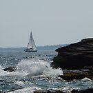 sailboat splash by endomental Artistry
