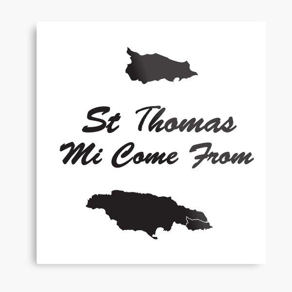 St Thomas Jamaica Metal Print