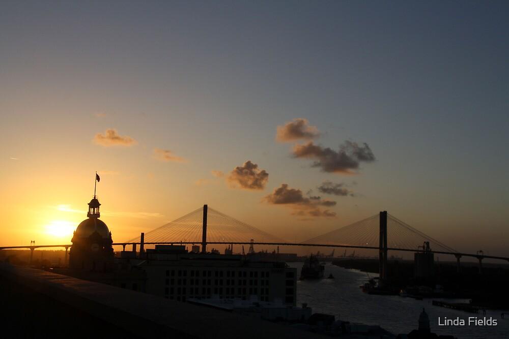 Savannah Sunset by Linda Fields