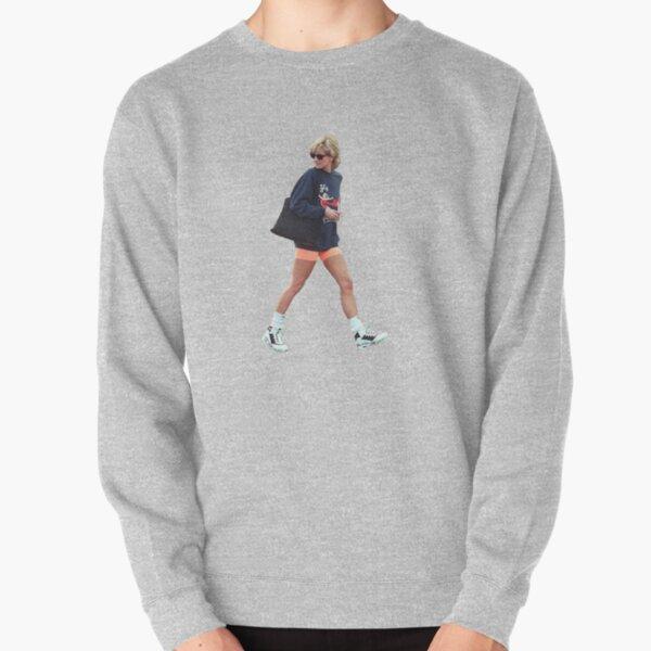 Princess Diana Streetwear Transparent Pullover Sweatshirt